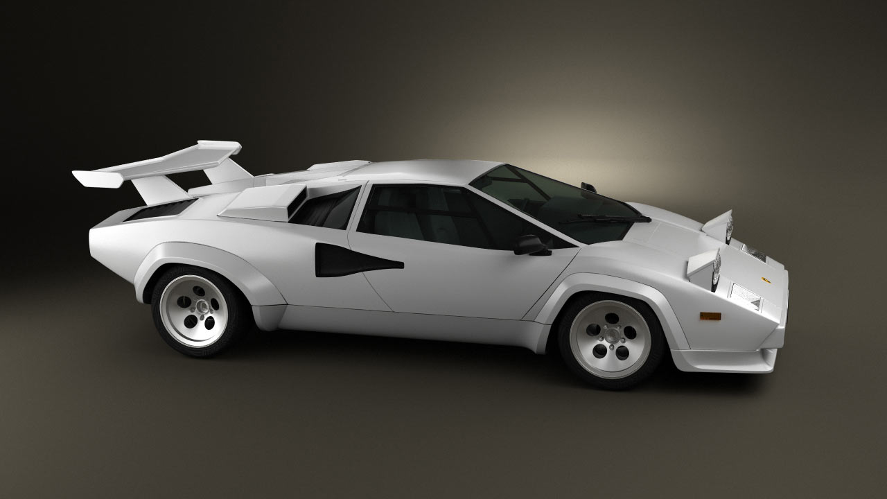 Countach QV, new in the collection